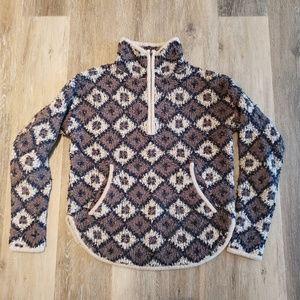 Madewell Half Zip Popover Sweater